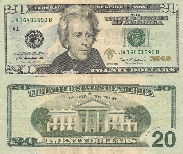 2009 Issue - 20 Dollars