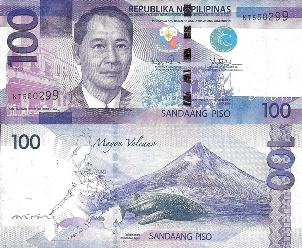 2010-2015 Issue - 100 Piso