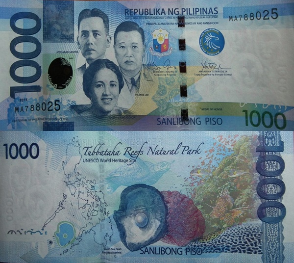 2010-2017 Issue - 1000 Piso