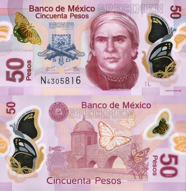 2012-2017 Issue - 50 Pesos