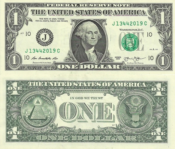 2013 Issue - 1 Dolar