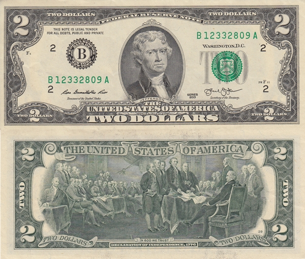 2013 Issue - 2 Dollars