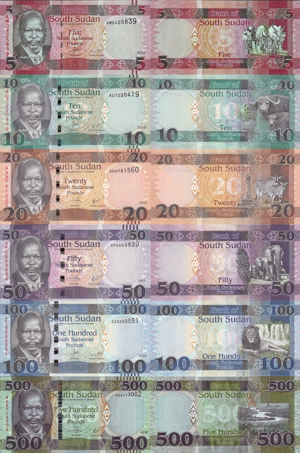 2015-2019 Issue - Bank of South Sudan