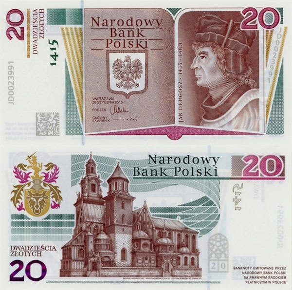 2015 Commemorative Issue - 600th Anniversary of Birthday of Jan Długosz