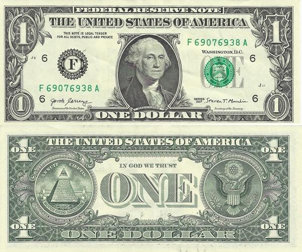 Emisiunea 2017 - 1 Dolar