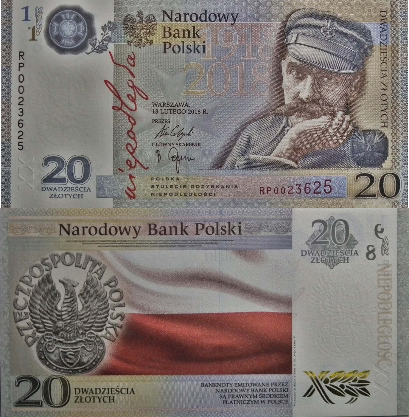 2018 Commemorative Issue - 100th Anniversary of Restoration of Polish Independence