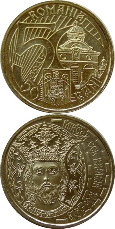 Emisiuni monede de 50 bani cu caracter comemorativ (2010- )