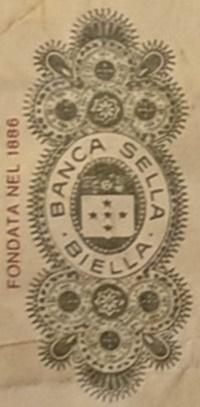 BANCA SELLA - BIELLA