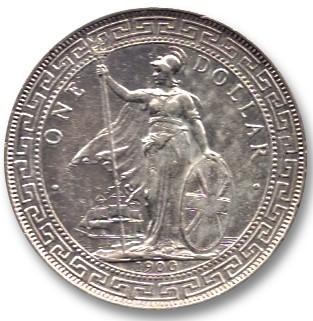 Britannia Trade Dollar (1895-1935)