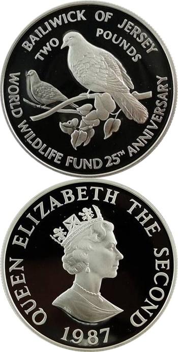 Dependență britanică - Comemorative 1972-2000