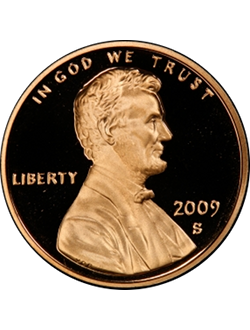 Cent, Lincoln Bi-Centennial (2009)