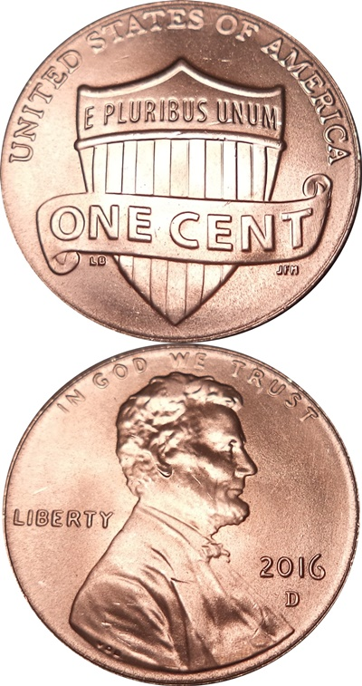 Cent, Lincoln Union Shield (2010-present)
