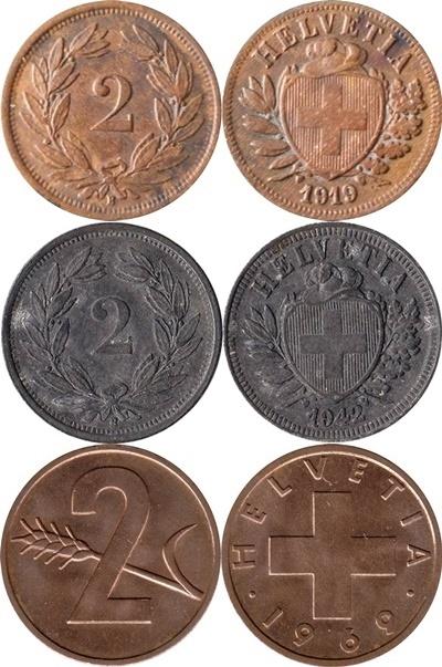 Confederation - 1850-1974 - 2 Rappen