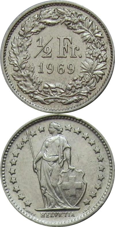 Confederation - 1850-2019 - 1/2 Franc