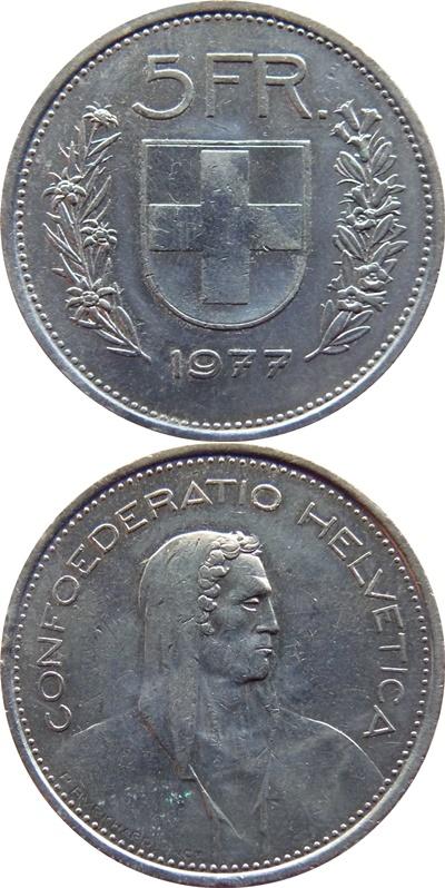 Confederation - 1850-2017 - 5 Francs