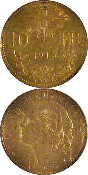 Confederation - 1911-1922 - 10 Francs