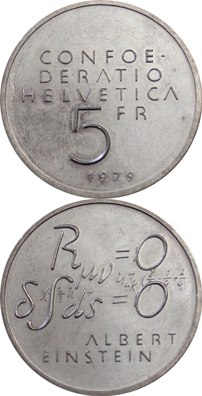 Confederation - Commemorative 1974-1990 - 5 Francs (copper-nickel)