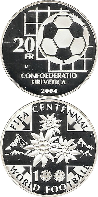 Confederation - Commemorative 1991-2019 - 20 Francs (silver)
