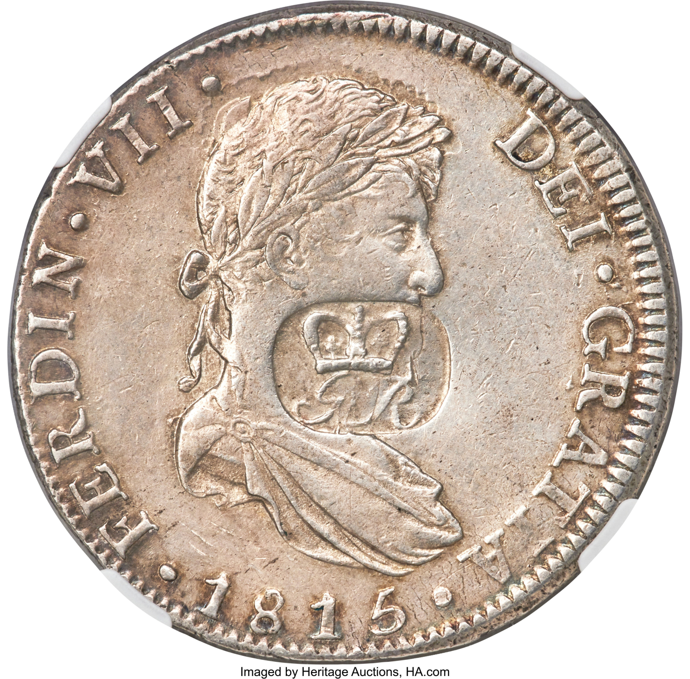 Countermarked coinage (1810-1818)