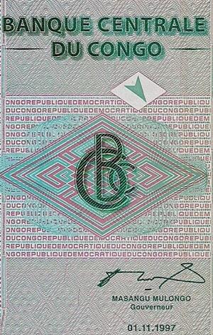 Republica Democrata - Banca Centrala - Emisiunea 1997
