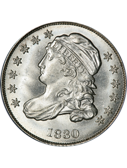Dime, Capped Bust (1809-1837)
