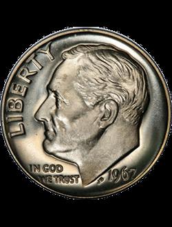 Dime, Roosevelt (1946-prezent)