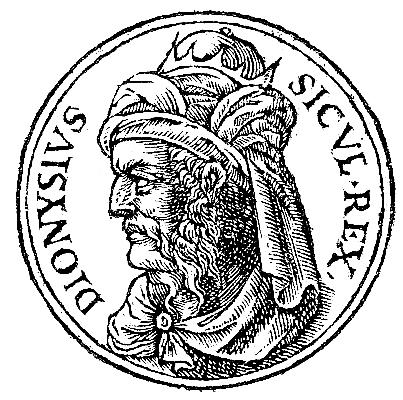 Syracuse - Dionysius I  (the Elder) (432-367 BC)