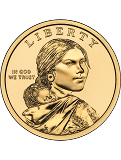 Dollar, Sacagawea (2000-prezent)