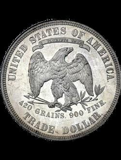 Dollar, Trade Dollar (1873-1885)