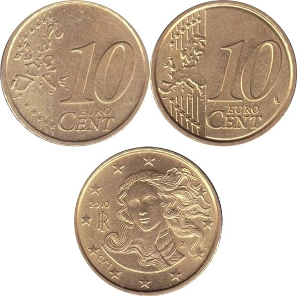 Euro (2002 - ) - 10 Euro Cent