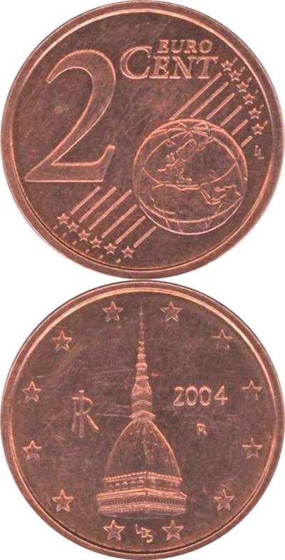 Euro (2002 - ) - 2 Euro Cent