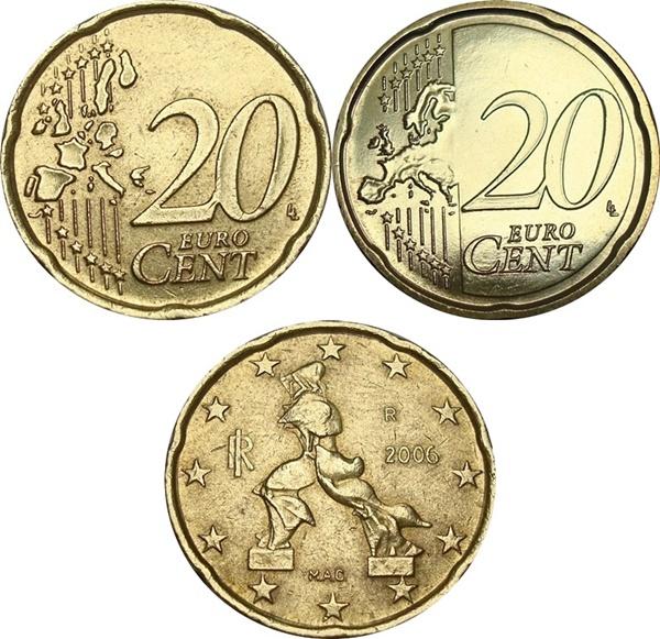 Euro (2002 - ) - 20 Euro Cent