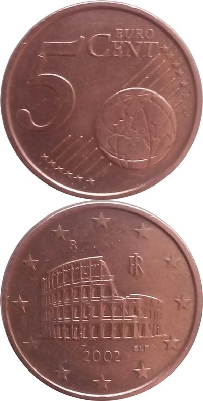 Euro (2002 - ) - 5 Euro Cent
