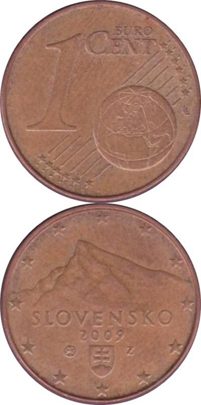 Euro (2009 - ) - 1 Euro Cent