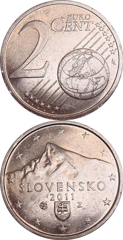 Euro (2009 - ) - 2 Euro Cent