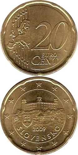Euro (2009 - ) - 20 Euro Cent