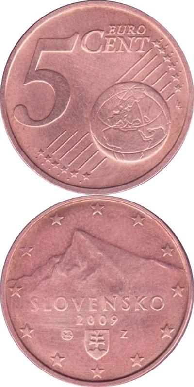 Euro (2009 - ) - 5 Euro Cent