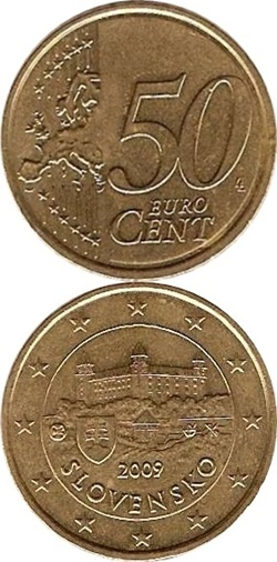 Euro (2009 - ) - 50 Euro Cent