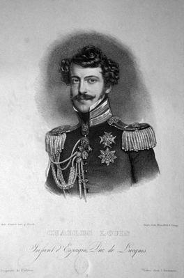 Duchy of Lucca - Carlo Lodovico di Borbone (1824-1847)