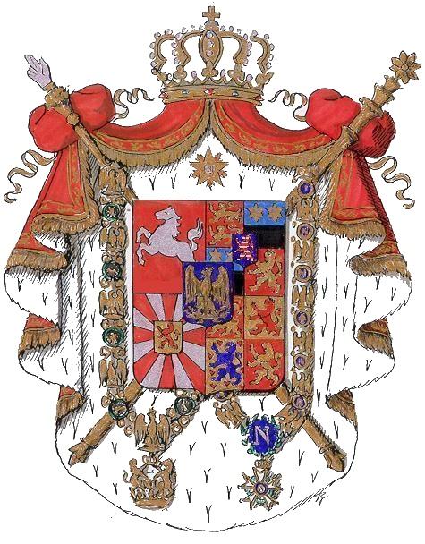 Kingdom of Westphalia - Jerome (Hieronymus) Napoleon (1807-1813)