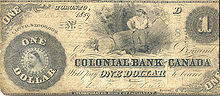 chartered banks issued notes 1817-1942