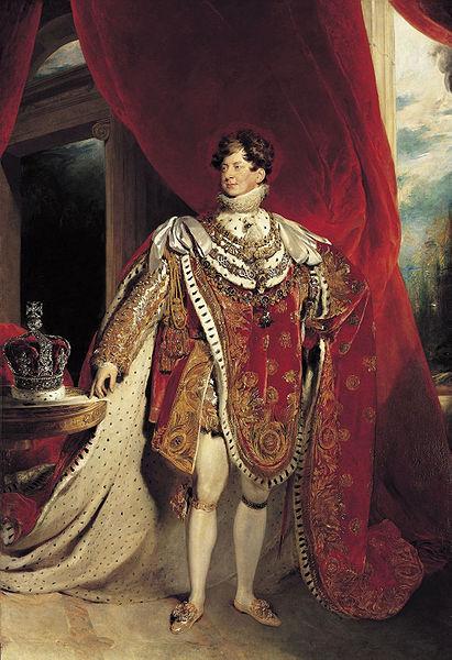 Regatul Hanovrei - George al IV-lea al Marii Britanii (1820-1830)
