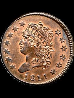 Half Cent, Classic Head (1809-1836)