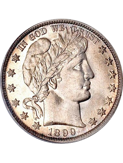 Half Dollar, Barber (1892-1915)