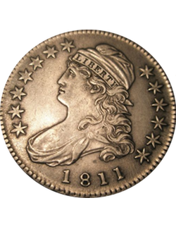 Half Dollar, Capped Bust (1807-1839)