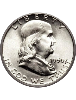 Half Dollar, Franklin (1948-1963)