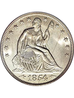 Half Dollar, Seated Liberty (1839-1891)