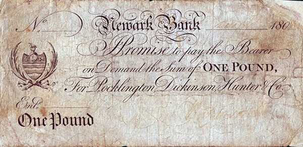 Newark Bank - Private Issue