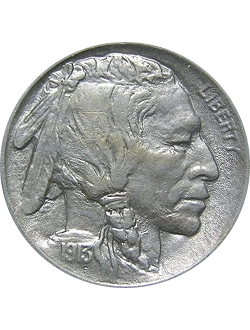 Nickel, Indian Head/Buffalo (1913-1938)