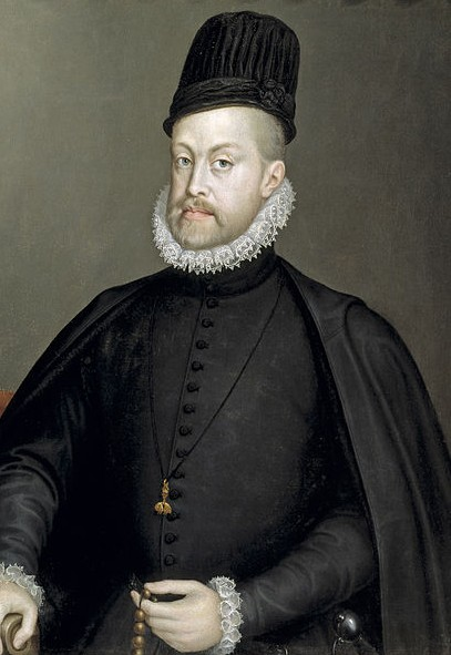 Philip II of Spain and Mary I of England (1553-1558)